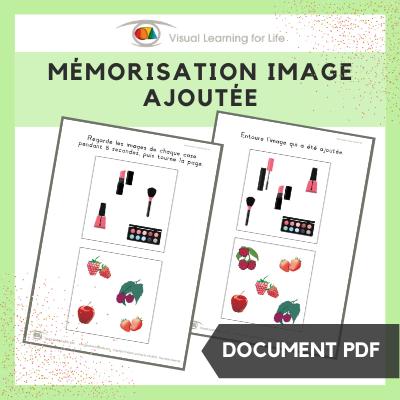 Mémorisation image ajoutée
