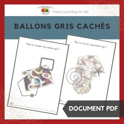 Ballons gris cachés