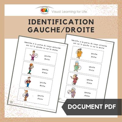Identification gauche/droite