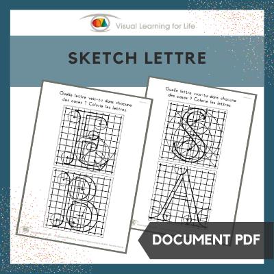 Sketch lettre