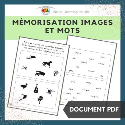 Mémorisation images et mots