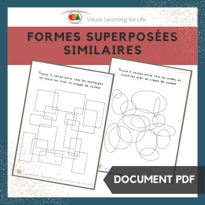 Formes superposées similaires