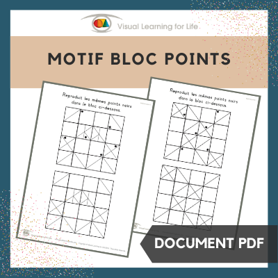 Motif bloc points