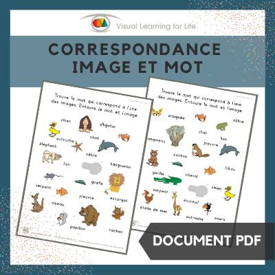 Correspondance image et mot