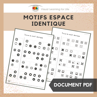 Motifs espace identique
