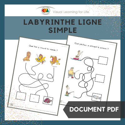 Labyrinthe ligne simple