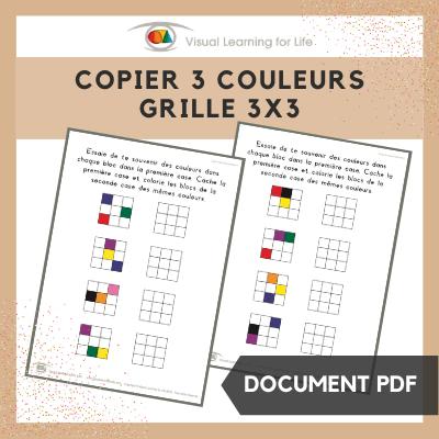 Copier 2 couleurs grille 4x4