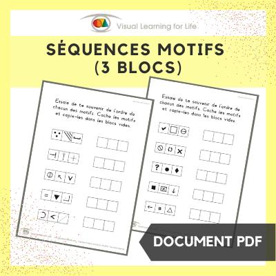 Séquences motifs (3 blocs)