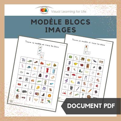 Modèle blocs images