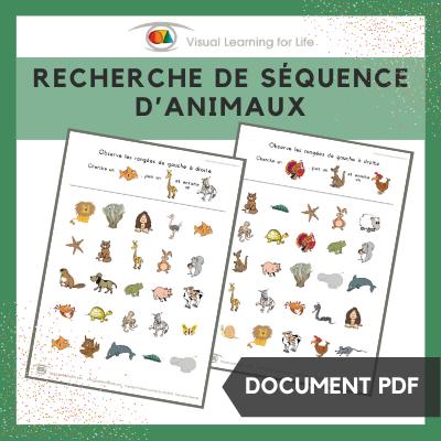 Recherche de séquence d'animaux