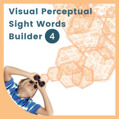 Visual Perceptual SIGHT WORDS Builder 4