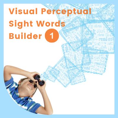 Visual Perceptual SIGHT WORDS Builder 1