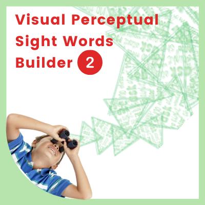 Visual Perceptual SIGHT WORDS Builder 2