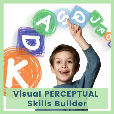 Visual PERCEPTUAL Skills Builder (2300 worksheets in total)