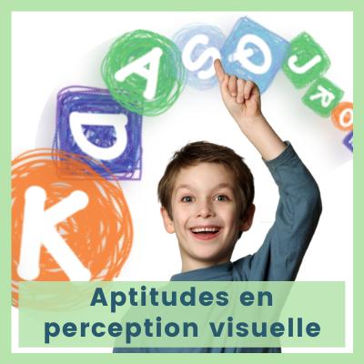 Aptitudes en perception visuelle