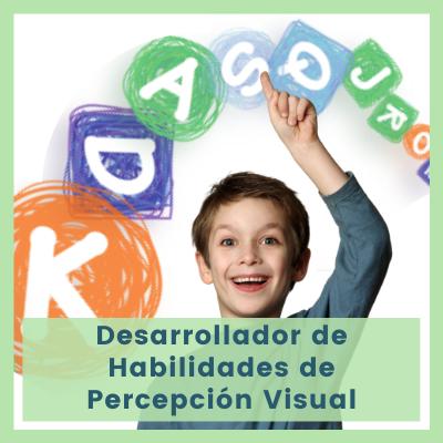 Desarrollador de Habilidades de Percepción Visual