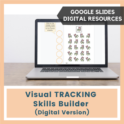 Visual TRACKING Skills Builder (Google Slides)