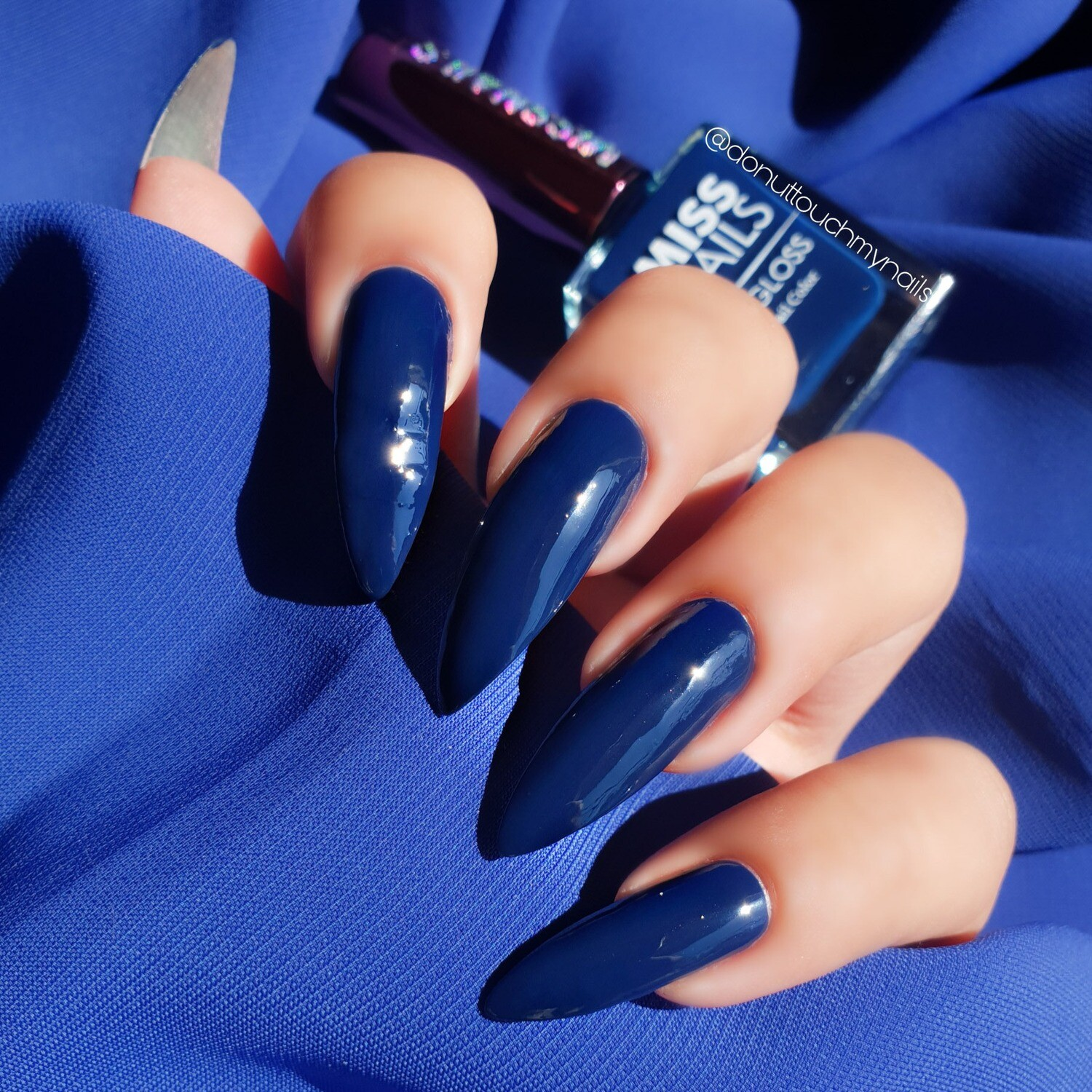 Hi-Gloss Smoky Blue