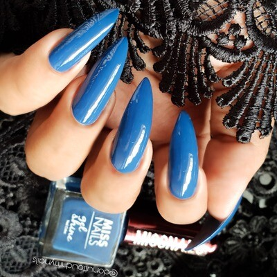 Gel Shine Blue Bizzare