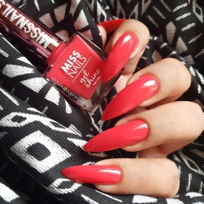 Gel Shine Feisty Red