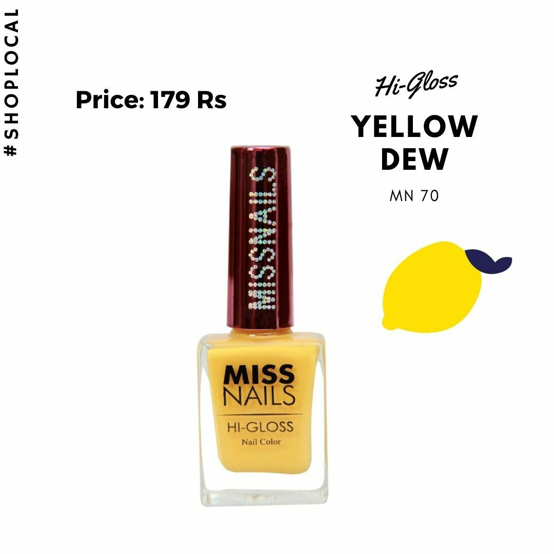 Hi-Gloss Yellow Dew