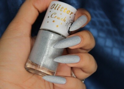 Glitter Crush Silver Moon