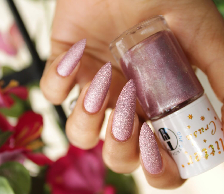 Glitter Crush Iris Mauve