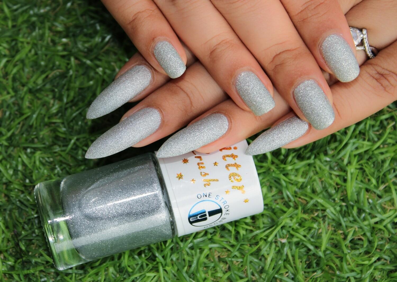 Glitter Crush Truly Silver