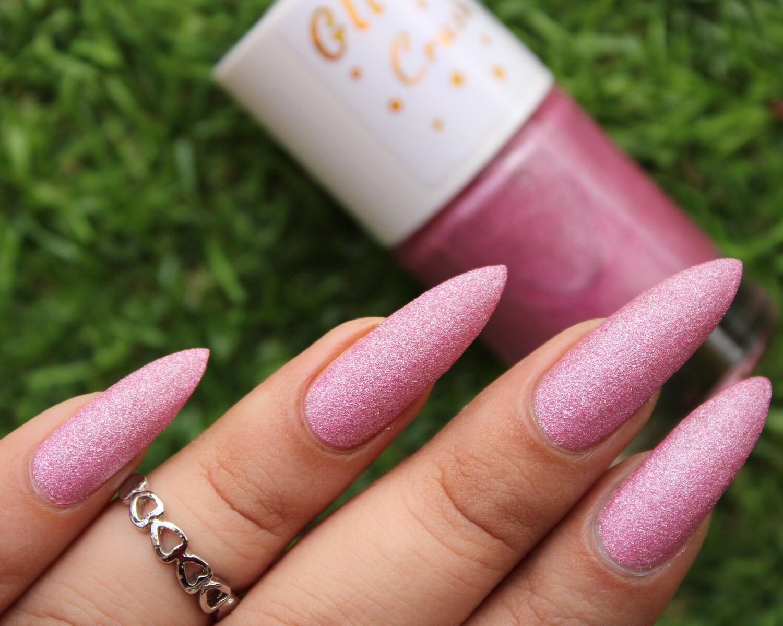 Glitter Crush Ocean Pink