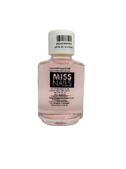 Miss Nails Remover enriched with Vitamin E