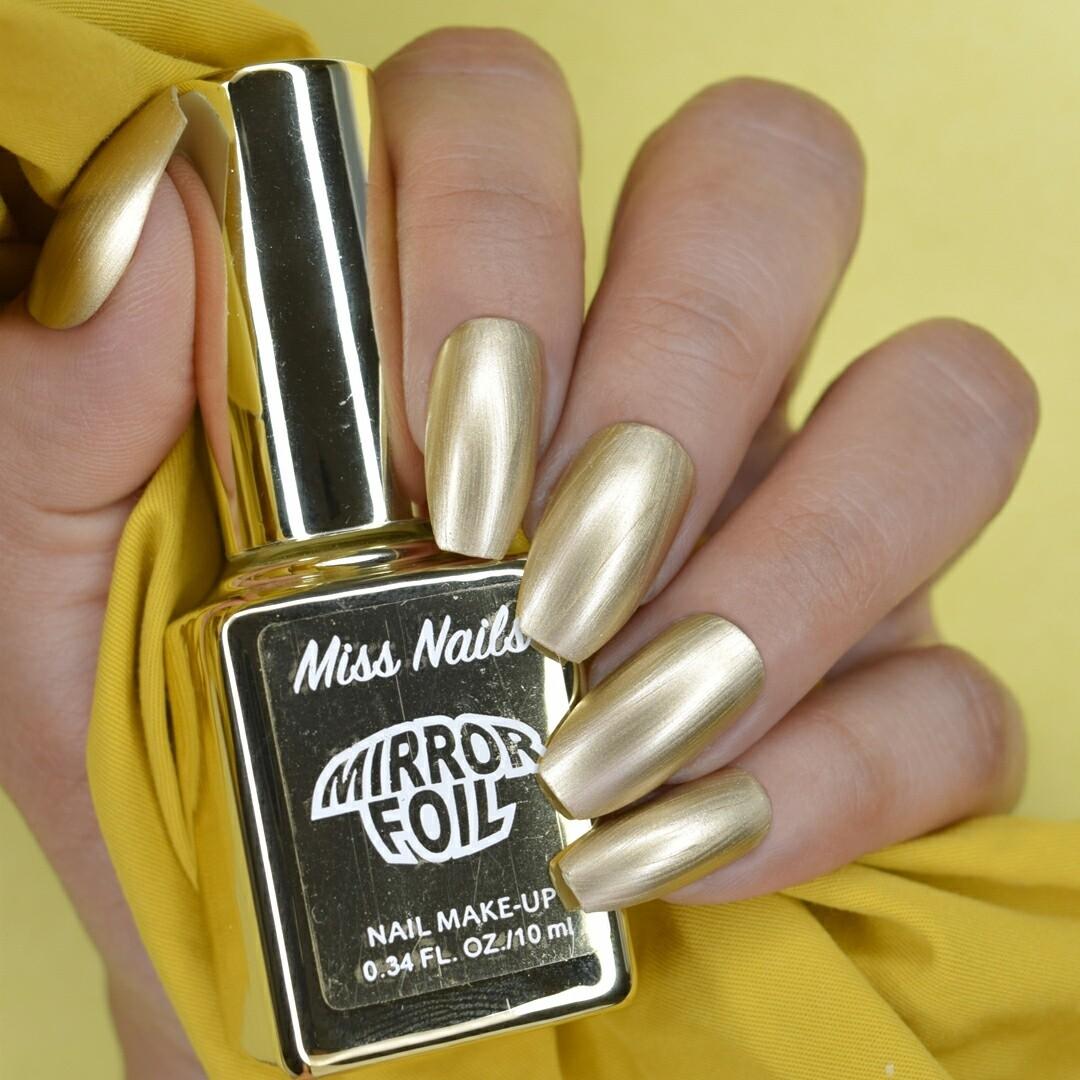 Mirror Foil Miss Golden