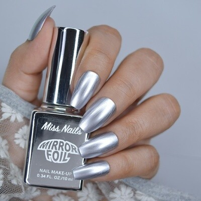 Mirror Foil Silver Night