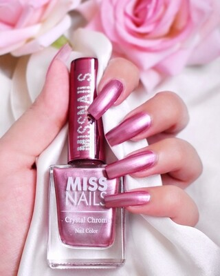Crystal Chrome Fuschia Red