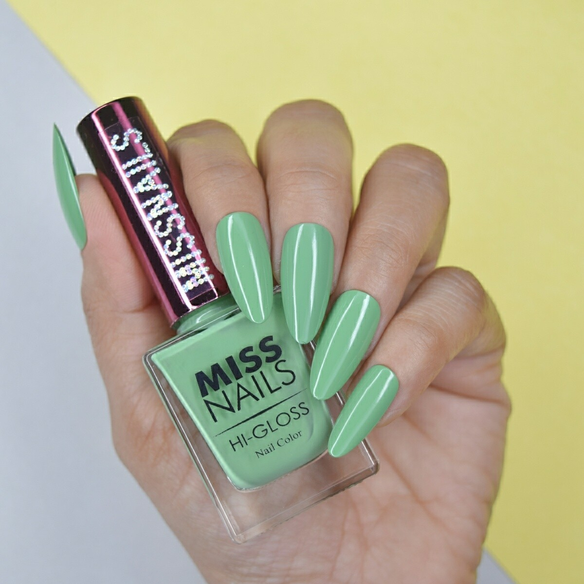 Hi-Gloss Gossip Green