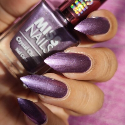 Crystal Chrome Plum Purple