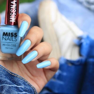 Hi-Gloss Blue Curacao