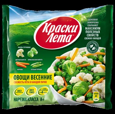 Краски Лета Весенние овощи смесь 400 гр*20 шт