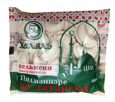Халяль Пельмени По-татарски 400 гр*20 шт