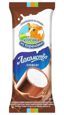 "Мороженное Лакомство шоколадно-сливочное ""Коровка из Кореновки""90 гр*20шт"