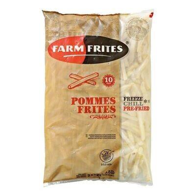 Farm Frites Картофель Фри Прямой кат А 10мм 2,5 кг*5 шт