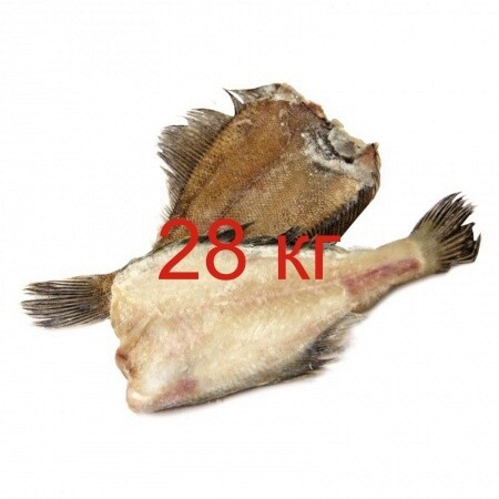 Камбала с/м ПБГ 1+ кг