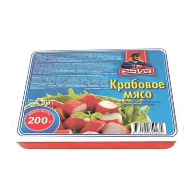 Крабовое мясо ESVA  200гр*25шт