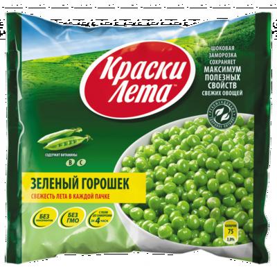 Краски Лета Зеленый Горошек 400 гр*20 шт