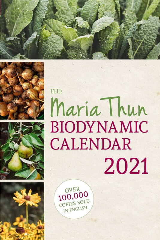 Maria Thun Biodynamic Calendar 2021