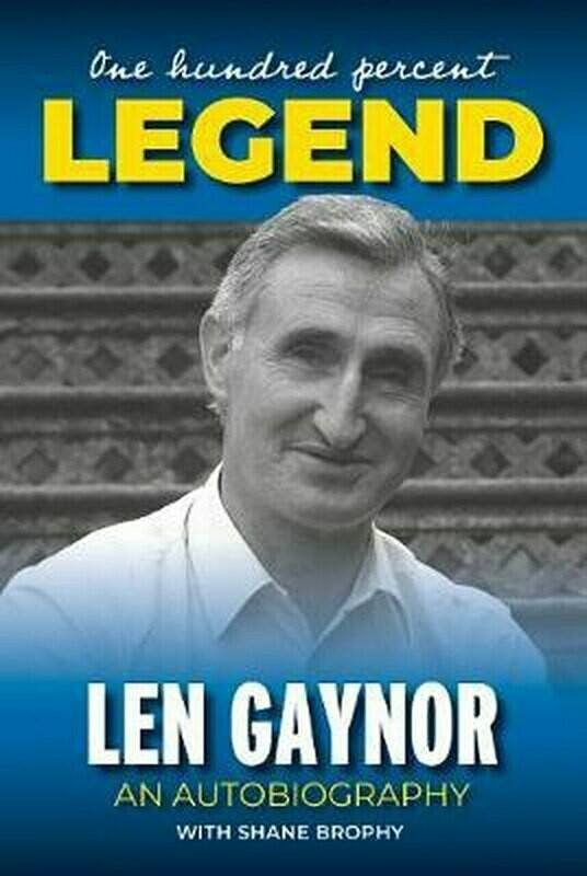 Chiselled from Ash by Len Gaynor with Shane Brophy SIGNED
