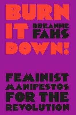 Burn It Down! feminist manifestos for the revolution