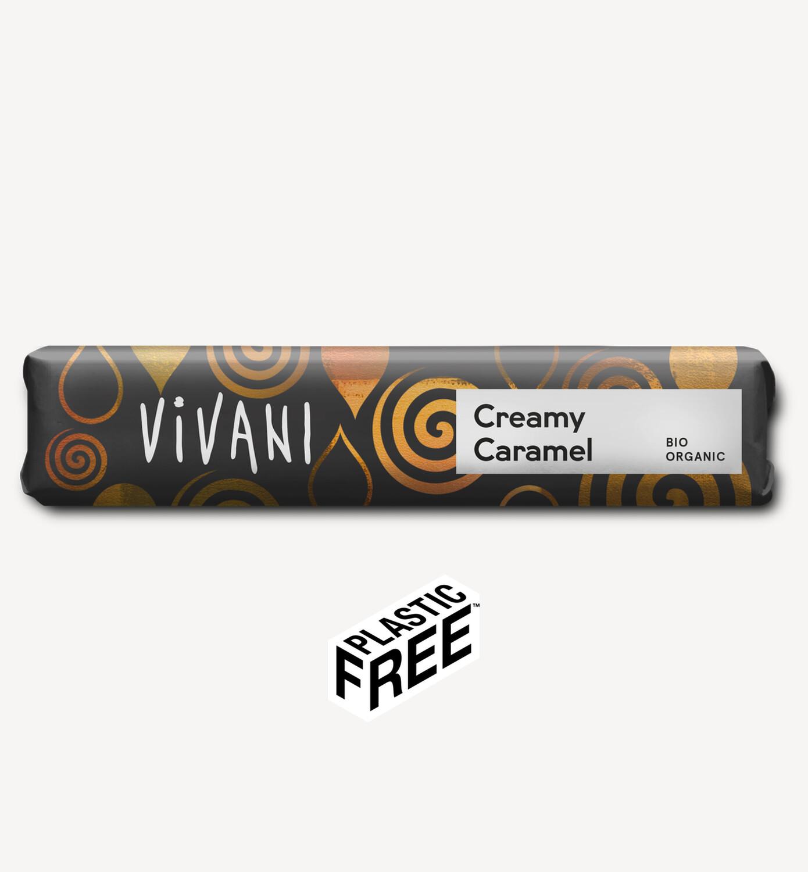 Vivani Creamy Caramel Chocolate Bar 40g