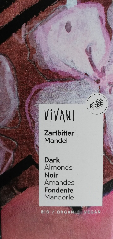 Vivani Almond Dark Chocolate 100g