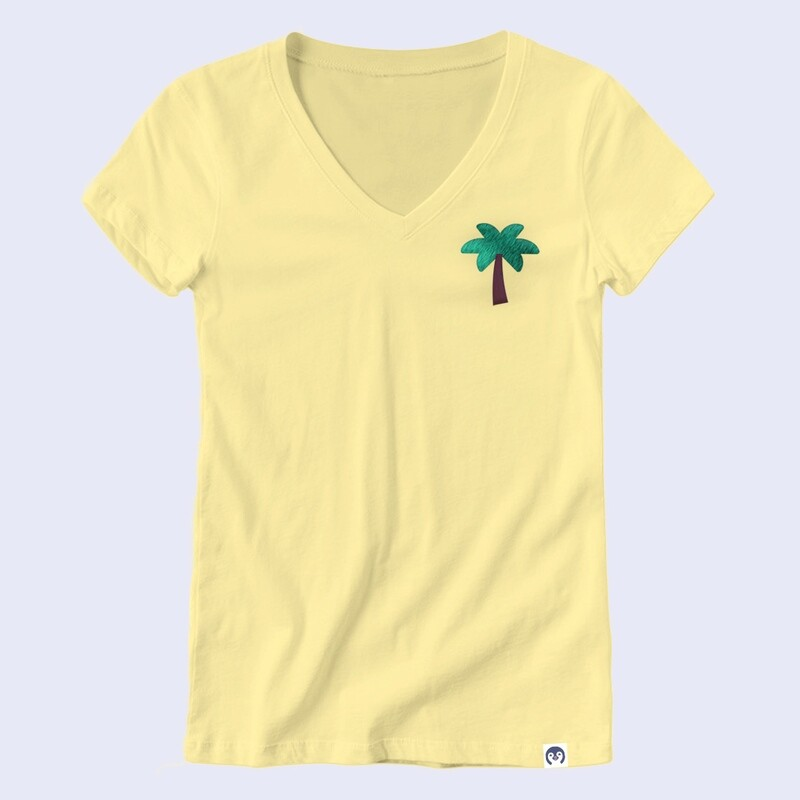 Palm Tree Embroidery