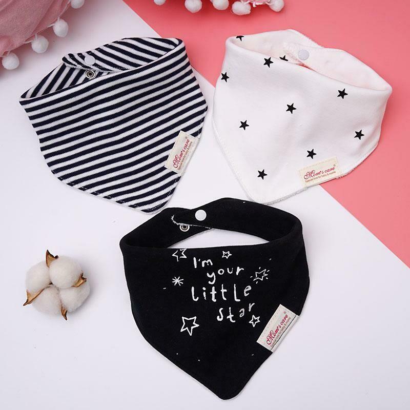Baby Detachable Cotton Bib Basic